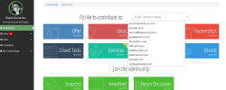 new dashboard in Contrib
