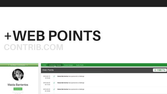 Contrib Web Points