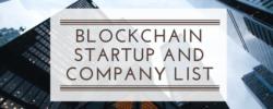 Blockchain Startup and Company List (1)