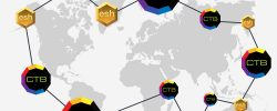 concept design of worldwide bitcoin currency network